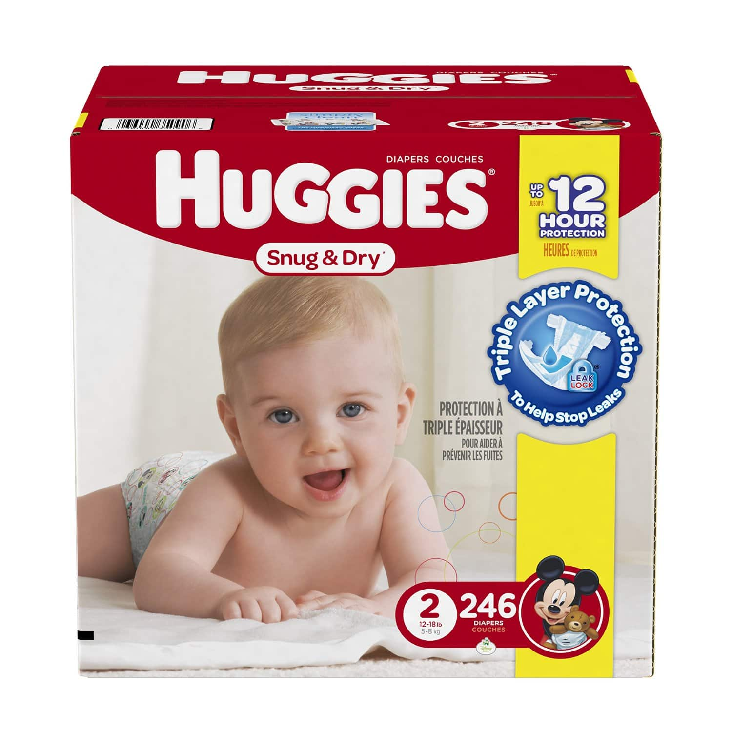 Amazon Family: Over 50% Off Huggies Diapers w/ New Clippable Coupons = As Low As 5¢ Per Diaper