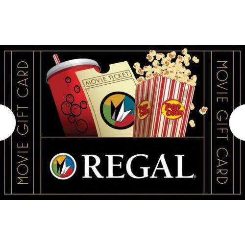 Gift Cards: $100 iTunes GC $85, $50 Regal Movie GC + Bonus $10 Code  $50 & More (Email Delivery)