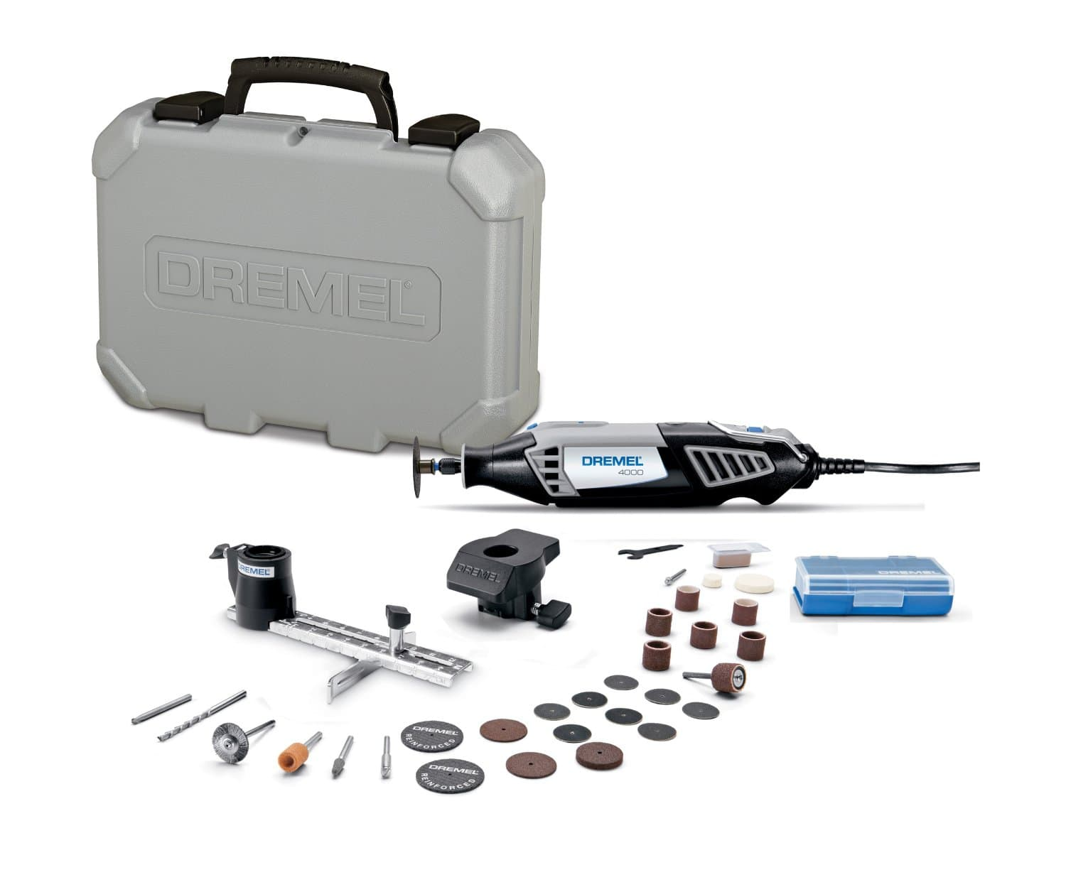 Dremel 4000 2/30 120V Variable Speed Corded Rotary Tool Kit  $60 + Free Shipping