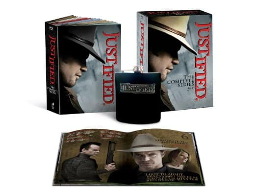 Justified: The Complete Series w/ Commemorative Book/Collectible Flask (Blu-Ray) $66.99 + Free Shipping