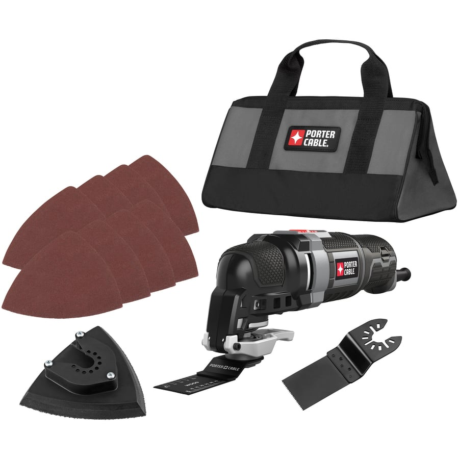 PORTER-CABLE 12-Piece 3-Amp Oscillating Tool Kit $49 @ Lowes