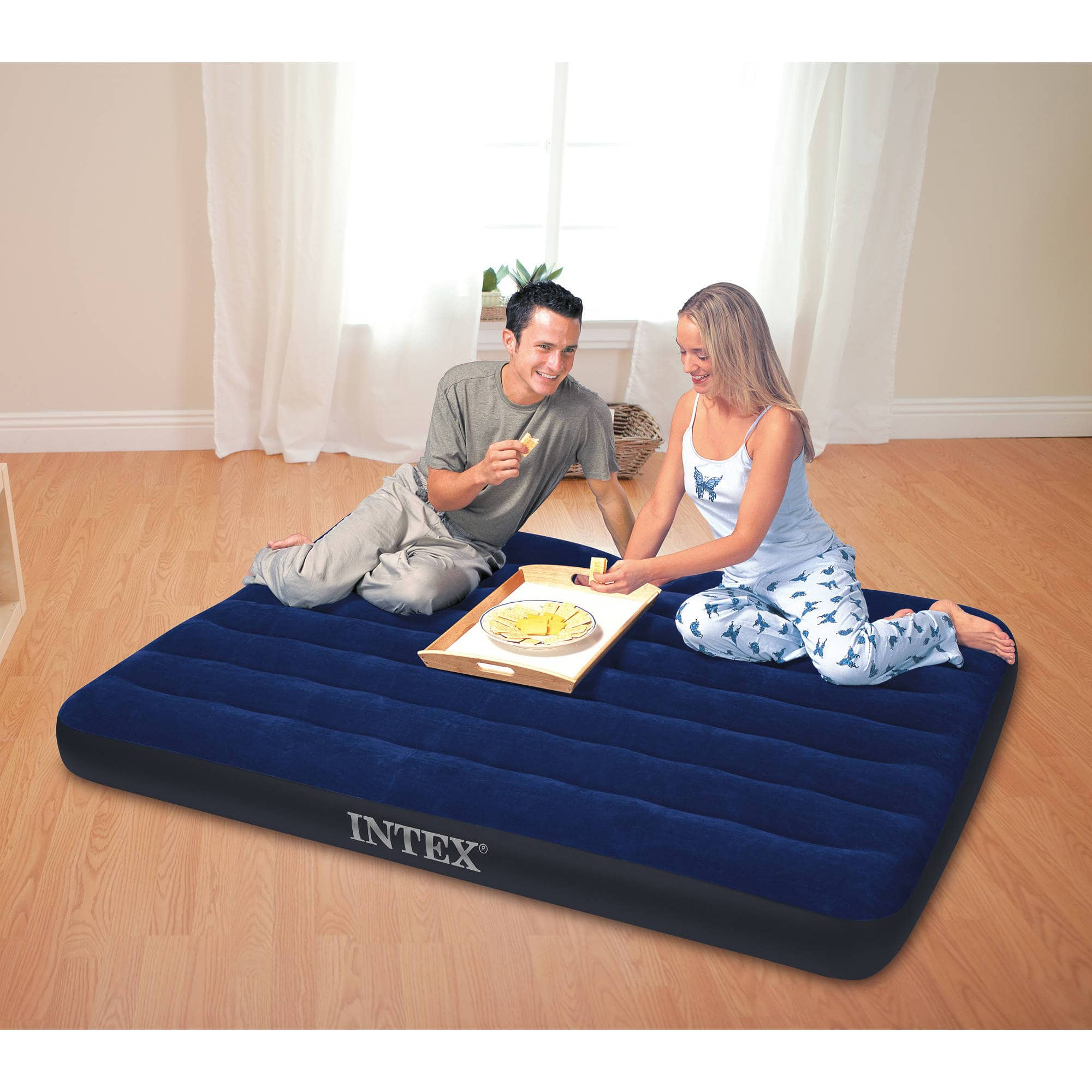 Intex Classic Downy Airbed, Full $6.93