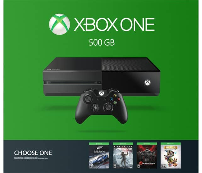 500GB Xbox One Name Your Game Console Bundle + Extra Controller  $280 & More + Free S&H