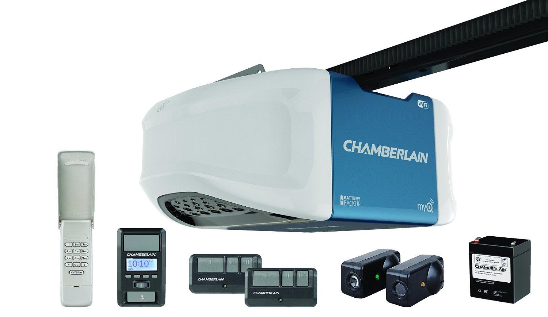 Chamberlain 1.25-HP Belt Drive Ultra Quiet Garage Door Opener w/ MyQ Smartphone Control $228 @Lowes