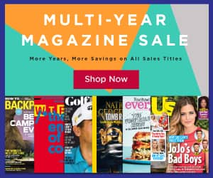 Multi-Year Magazine Sale: Men's Fitness, Self, Islands, Golf Digest  $9/ 2yrs. & More