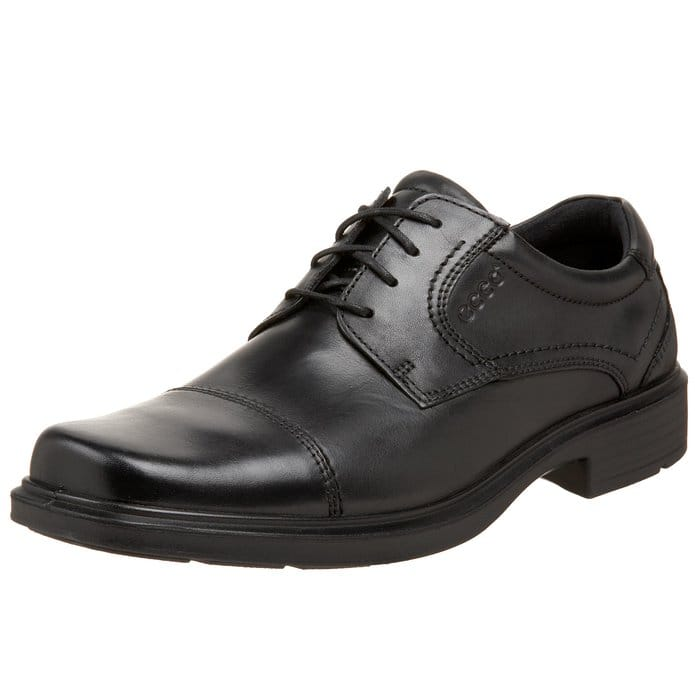 Men's Ecco Shoes: Helsinki Cap Toe Oxford Dress Shoes  $70 & More + Free S&H