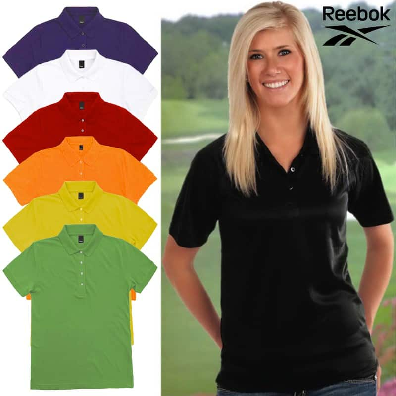 Reebok Women's Platinum Cotton Polo Shirt (Various Colors/Sizes)  $6 + Free Shipping