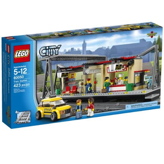 LEGO City Trains Train Station 60050 Building Toy $40.98 + FS Amazon