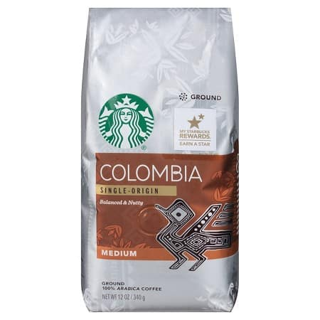 9-Pack 12oz Starbucks Ground Coffee (Various Flavors) + $10 Target GC  $45.50 + Free Shipping