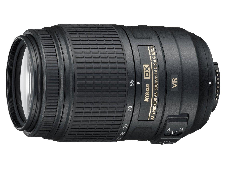 Nikon AF-S Nikkor 55-300mm f/4.5-5.6G ED VR Lens  $247 + Free Shipping