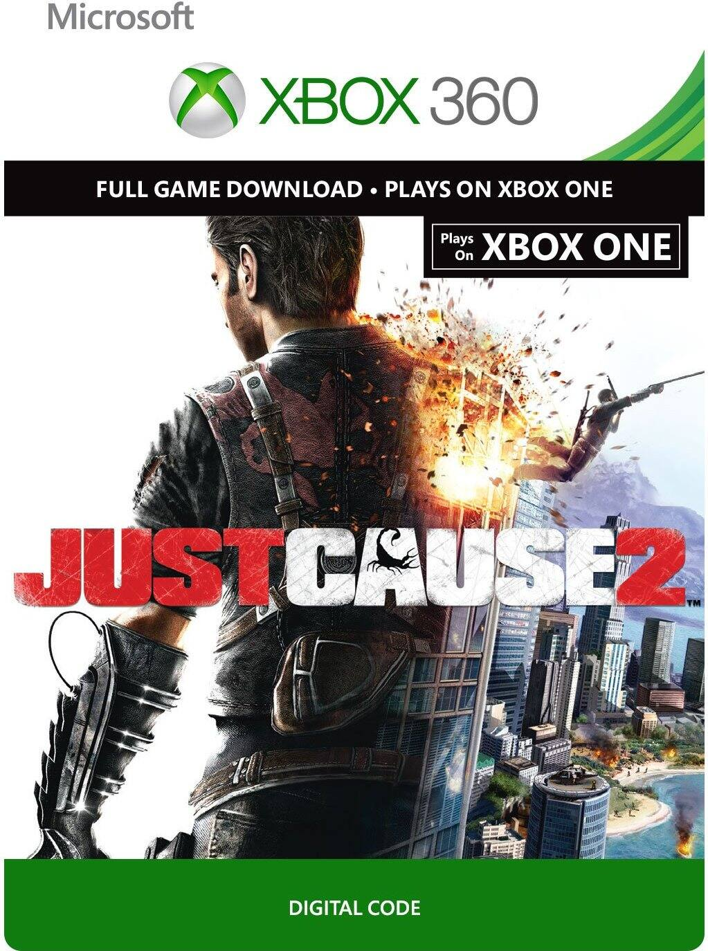 Just Cause 2 (Xbox 360 & Xbox One Digital Code) + More XBOX Games On Sale From $4.99 @ Amazon