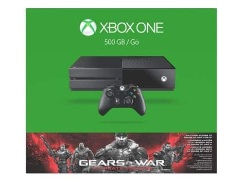 *New* Xbox One 500GB Gears of War: Ultimate Edition Console Bundle + Free Shipping $209