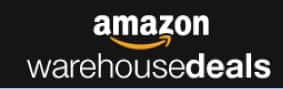 Prime Members: Amazon Warehouse Deals Coupon: Extra Savings:  20% Off