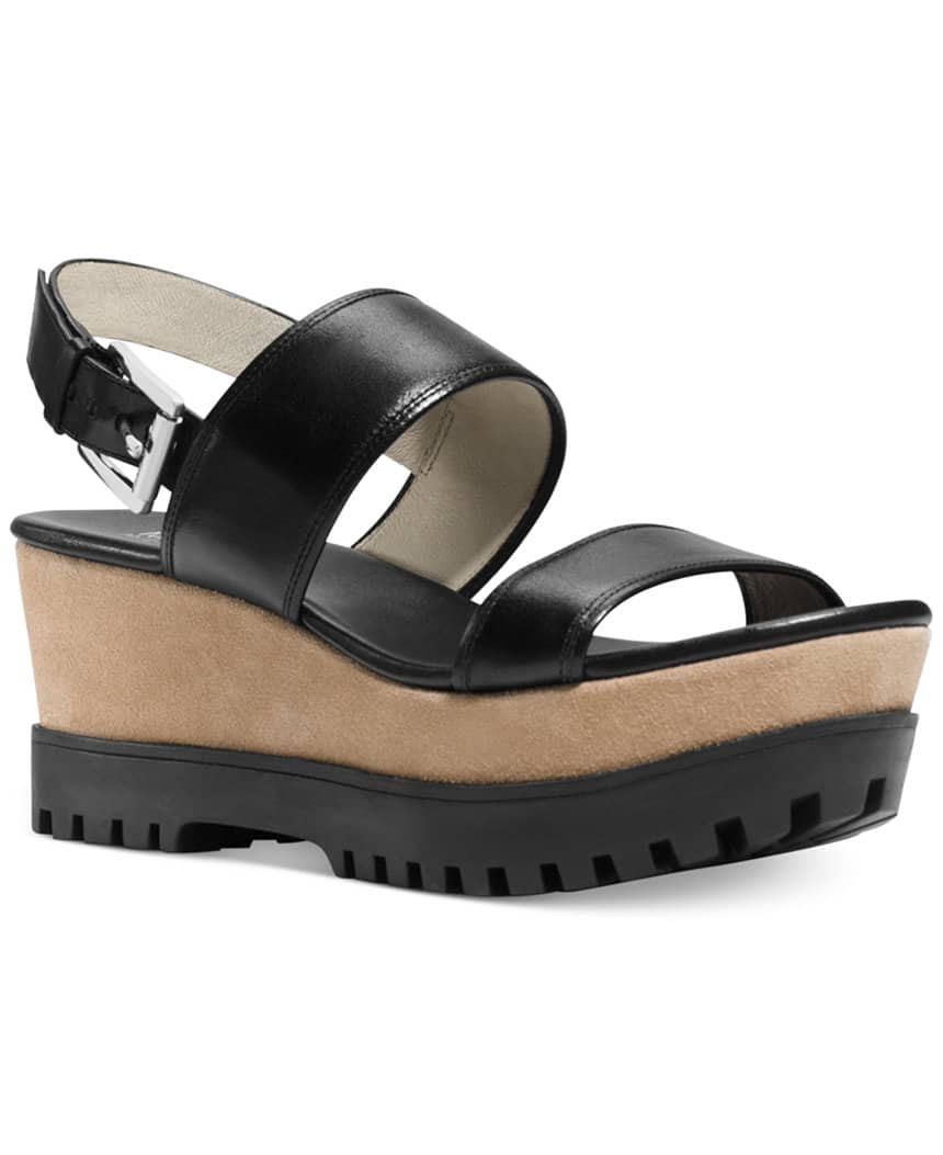 Women's Shoes: Michael Kors Wedge Sandals  $37.50 & More + Free S&H