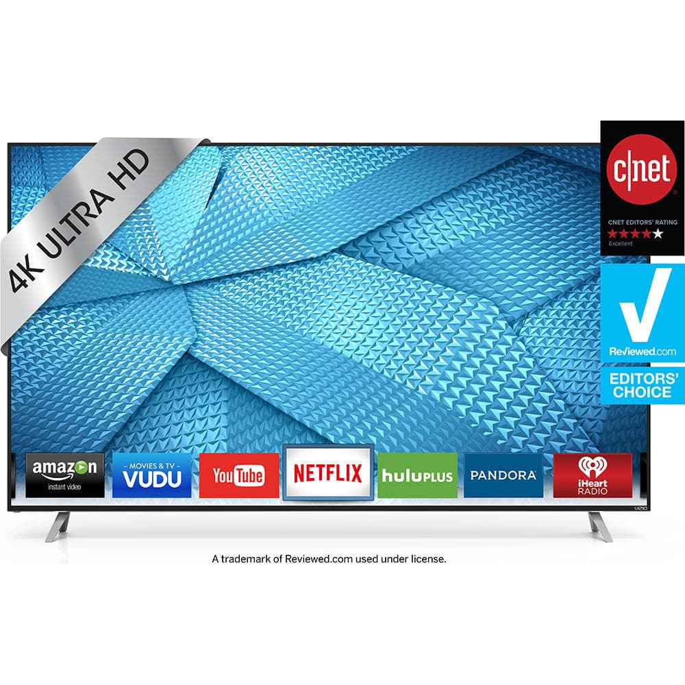 Vizio M60-C3 - 60-Inch 240Hz 4K Ultra HD Smart LED HDTV $899 + Free Shipping (eBay Daily Deal)