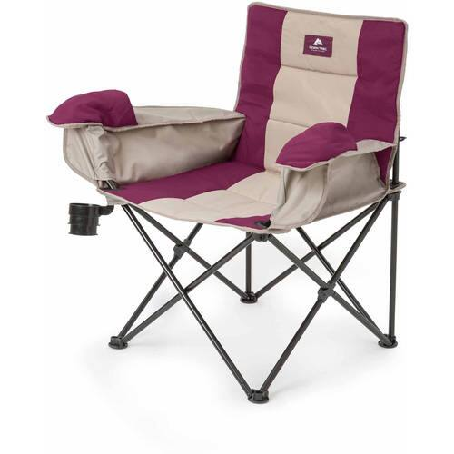 Ozark Trail Insulated Folding Camp Chair w/ Steel Frame (Purple/Gray)  $10 + Free Shipping