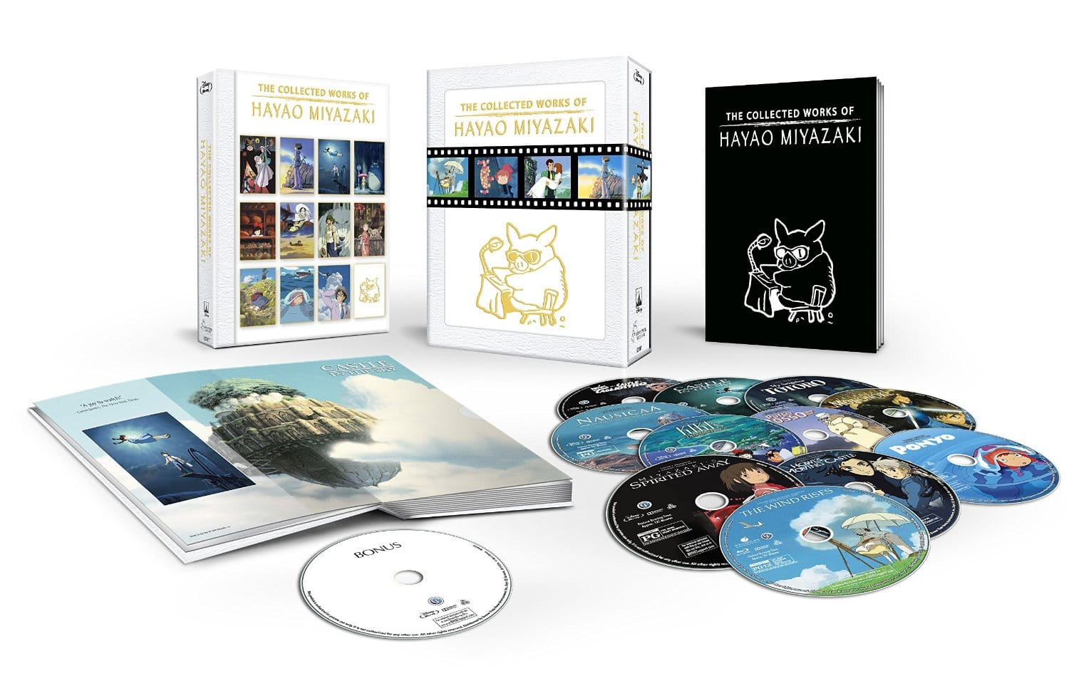 Prime Members: The Collected Works of Hayao Miyazaki (Blu-ray)  $142.40 + Free Shipping