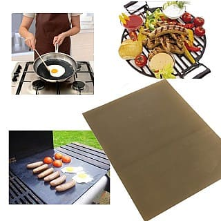 2 Pack of Non-Stick Reusable Grill Sheets $3.99 + Free Shipping