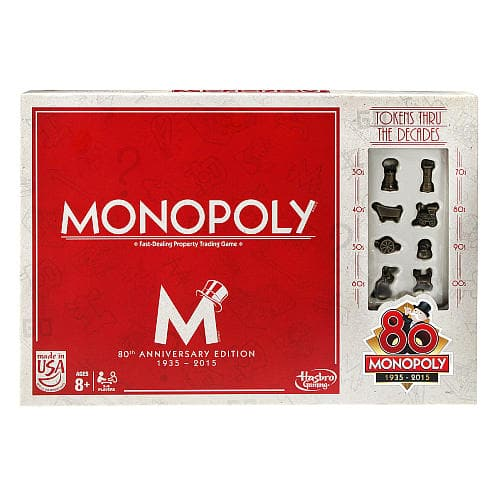 Monopoly Board Games: Here & Now or 80th Anniversary or SpongeBob Edition  $7 & More + Free Store Pickup