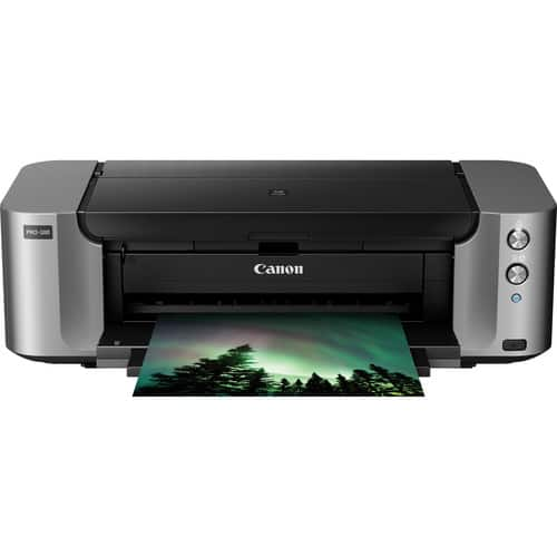 Canon Pixma Pro-100 Wireless Printer + 50-Sheets Photo Paper  $50 after $250 Rebate + Free S&H