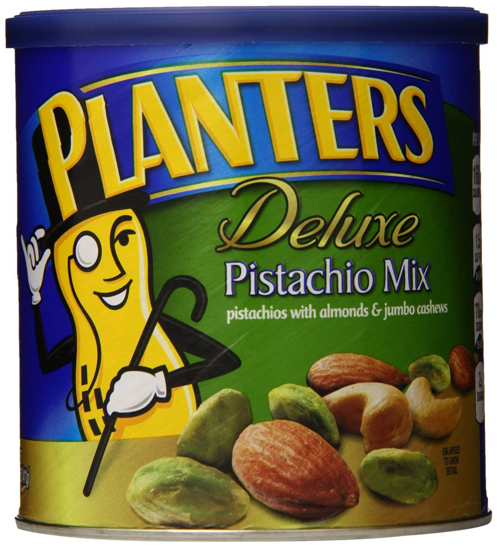 14.5oz Planters Deluxe Pistachio Mix  $8.40 + Free S&H