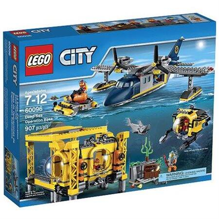 LEGO Building Sets: Super Heroes Jokerland Set $83.99, City Spaceport $67.99, Deep Sea Operation Base $59.99 + FS & More w/ MasterPass Checkout