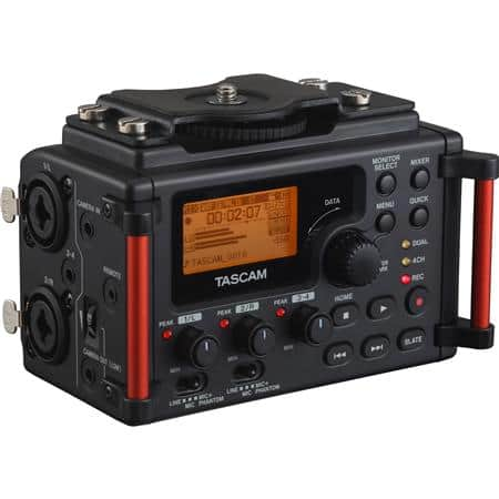 Tascam DR-60D MKII Portable Audio Recorder $125 or Tascam DR-70D 4-Channel Audio Recorder $185 after $30 rebate + free shipping