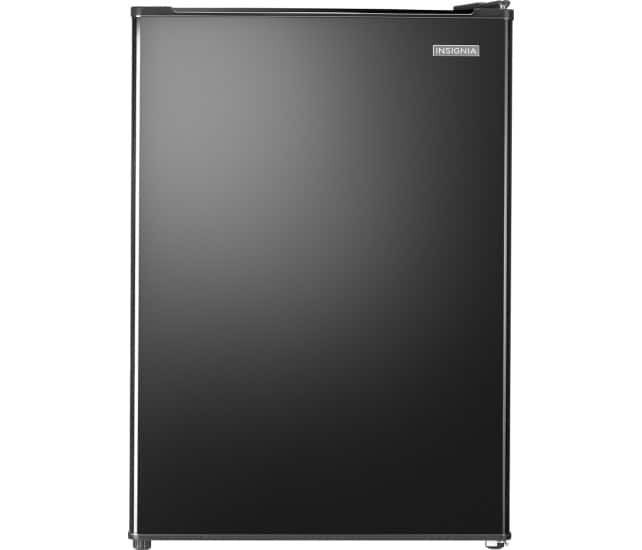 Insignia™ - 2.6 Cu. Ft. Compact Refrigerator - Black $49.99+ tax FS w/ EDU Coupon
