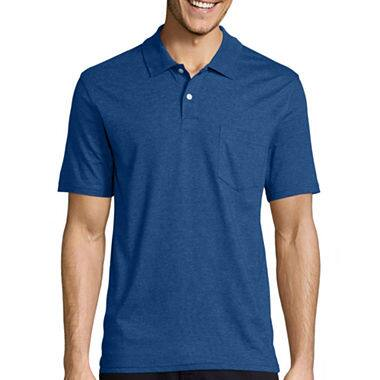 St. John's Bay Men's Polos (various styles/colors)  $5.25 + Free Ship-to-Store on Orders $25+
