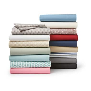 Home Expressions Microfiber Sheet Set (Twin) $5.95 + free same day pickup at JCPenney