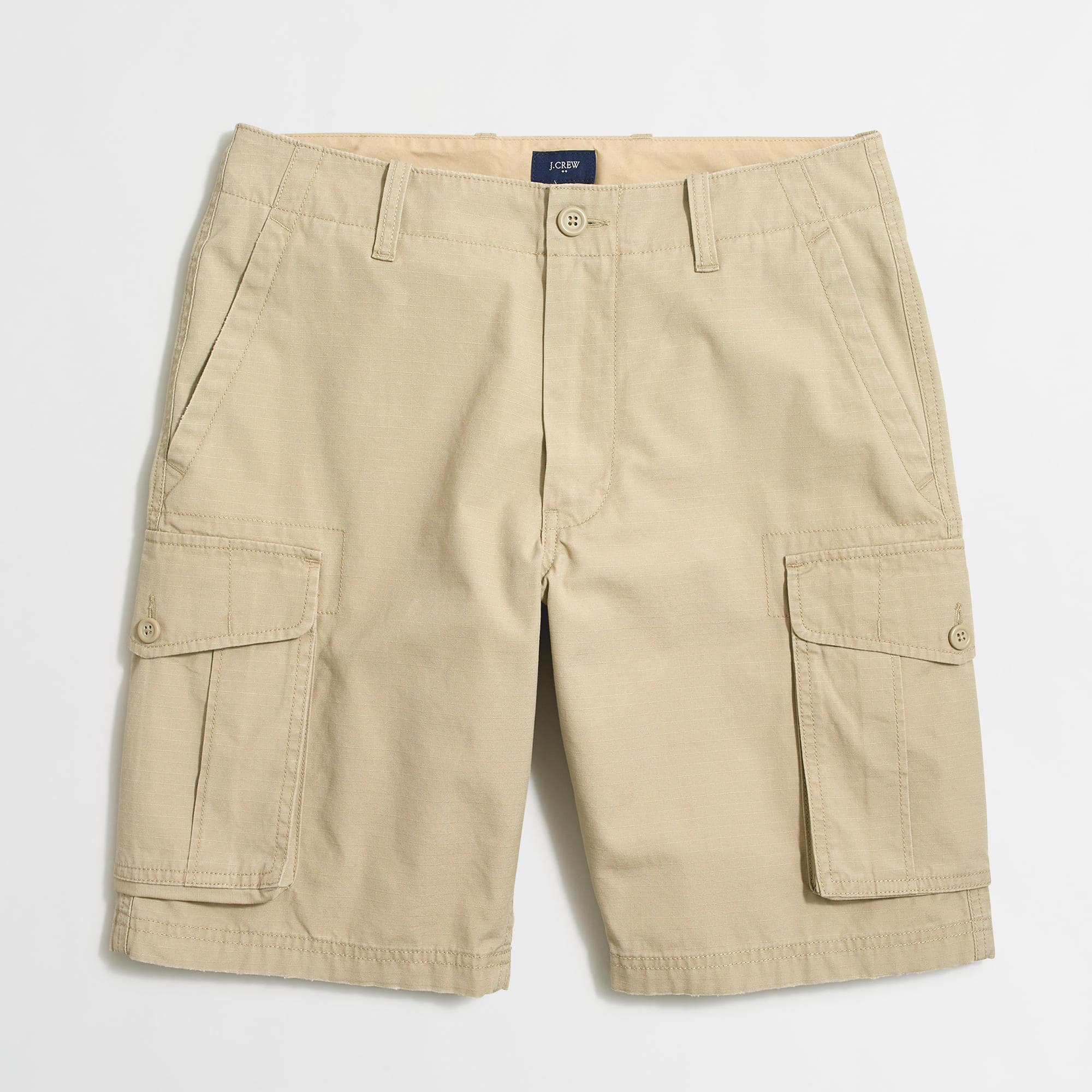 Factory Men's Cargo Shorts $9.99 AC + FS @ J. Crew Factory