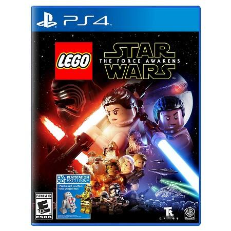 LEGO Star Wars: The Force Awakens (PS4 or Xbox One) $39.99 ($31.99 w/ GCU) or (Wii U, PS3 or Xbox 360) $29.99 ($23.99 w/ GCU) + Free Store Pickup