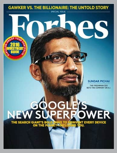 Forbes Magazine $4.99 per year (24 issues)