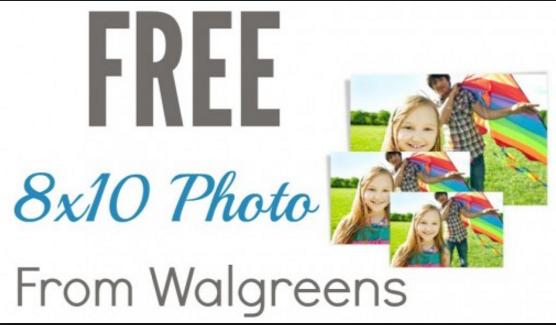 "Walgreens: 8""x10"" Photo Print  Free + Free In-Store Pickup"