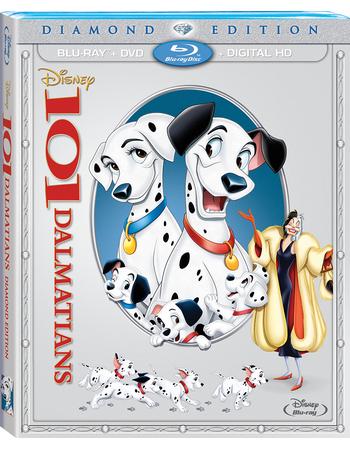 Disney Movie Rewards Members: 101 Dalmatians (Blu-ray + DVD + Digital)  1000 DMR Points & More