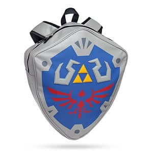 """The Legend of Zelda: Link's Shield Officially Licensed Backpack (16""""x19""""x4""""): 2 for $33.97 + Free Shipping"""