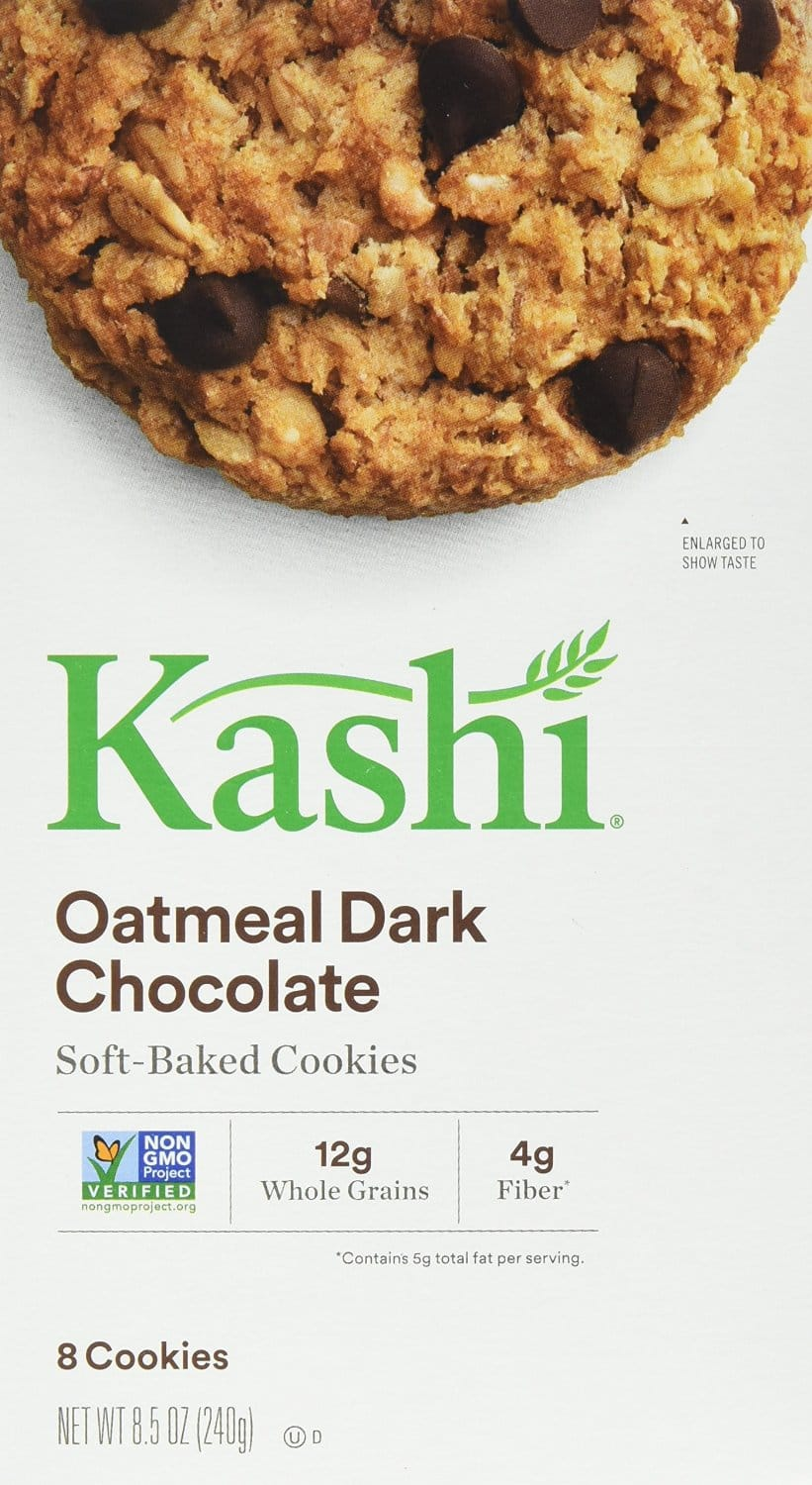 Kashi Cookies, Oatmeal Dark Chocolate, 8.5-Ounce Boxes (Pack of 3) $5.24