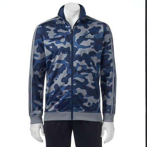 Kohls Cardholders: Men's adidas Essential Track Jacket (Camouflage Print)  $15.40 + Free S&H (Sizes XL & XXL)