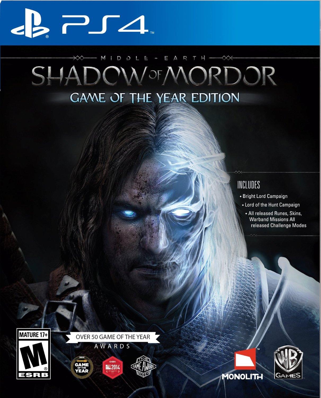 GCU Members: Shadow of Mordor: GOTY Edition, LEGO Batman 3: Beyond Gotham (PS4/XB1) $11.99 & More + Free In-Store Pickup