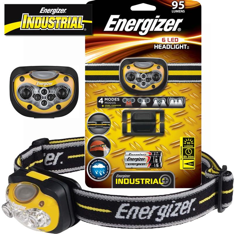 Energizer Industrial 6 LED Headlamp $7.80 + Free Shipping