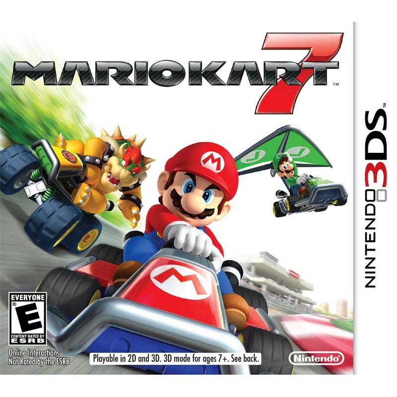 Mario Kart 7 (3DS Digital Download) $17.50