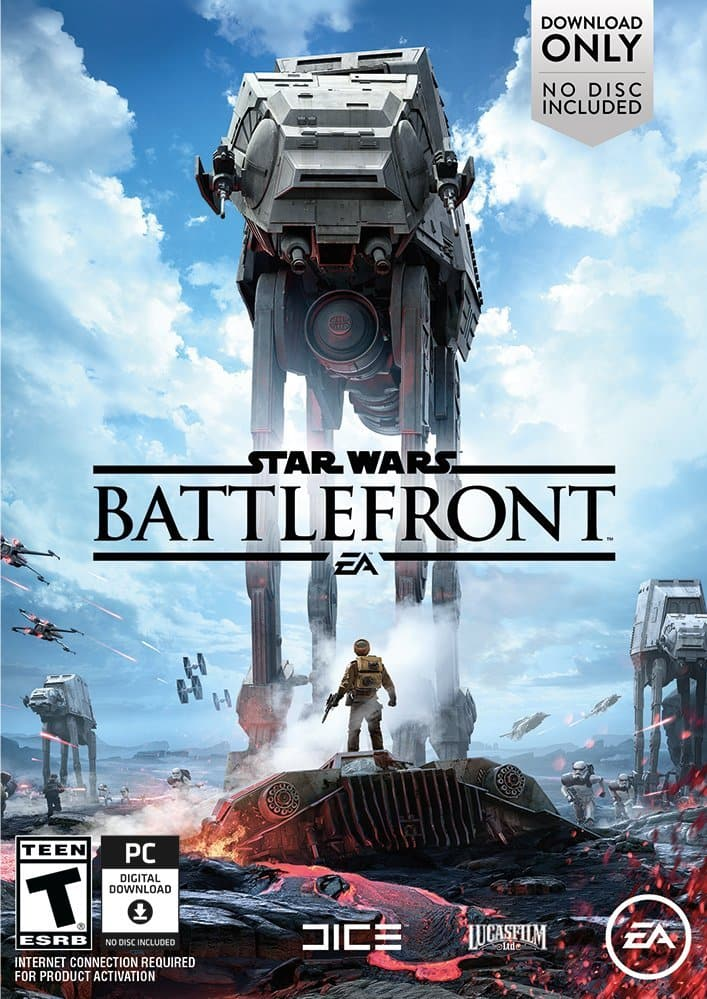 Star Wars Battlefront PC ($15) - Origin 50% off Sitewide Sale