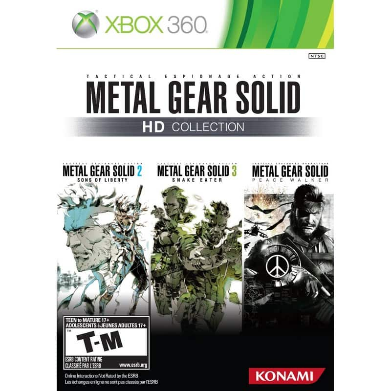 Metal Gear Solid: HD Collection (Xbox 360)  $13.75 + Free Shipping