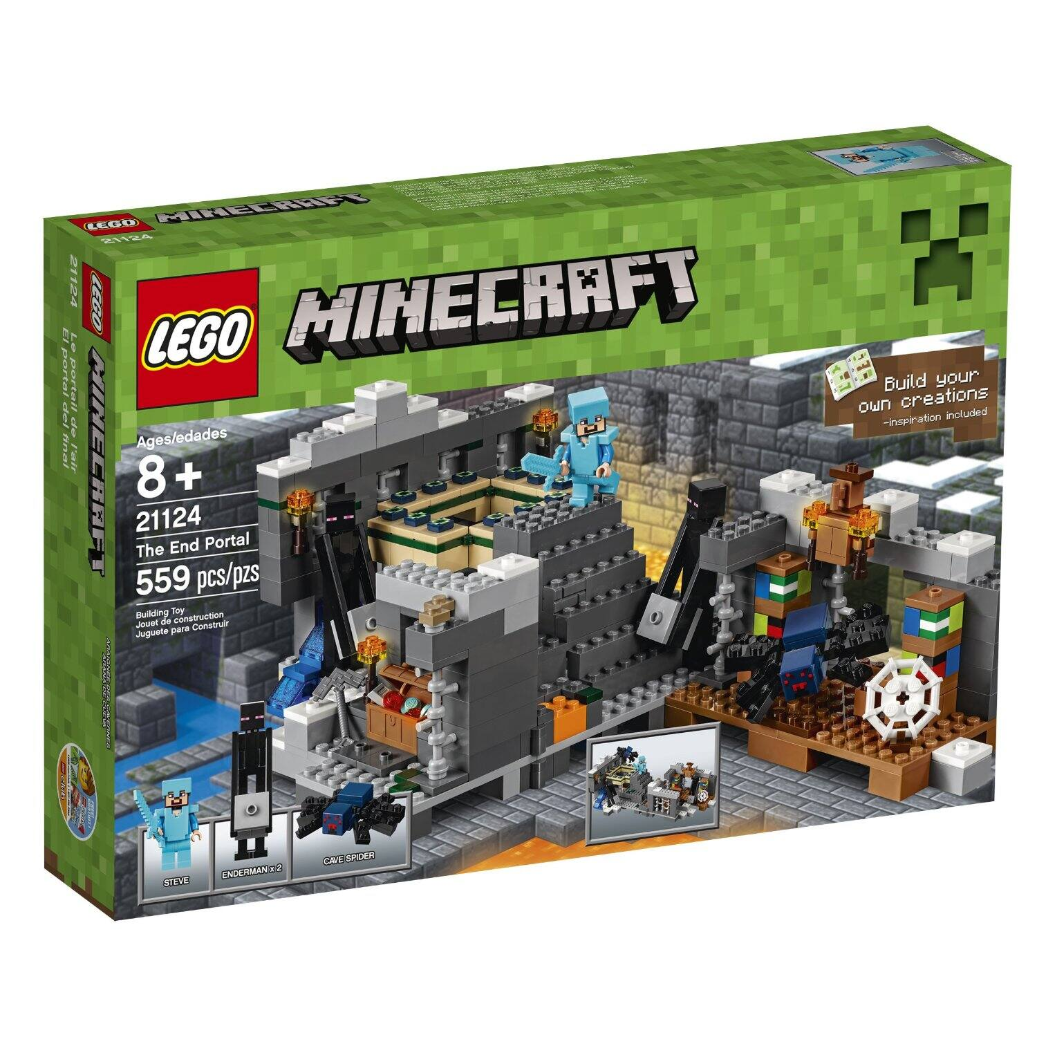 Lego Minecraft: The End Portal Set (21124)  $39 + Free Shipping