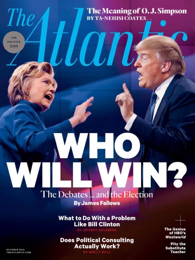 The Atlantic Magazine (Print + Digital Subscription): 3-Years for $12