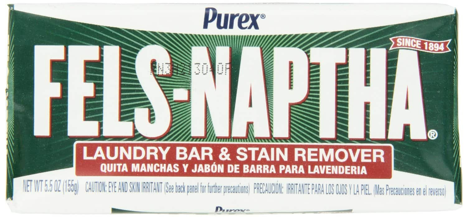 Fels Naptha Laundry Bar and Stain Remover, 5.5 Ounce - $1.09 + FS w/Prime