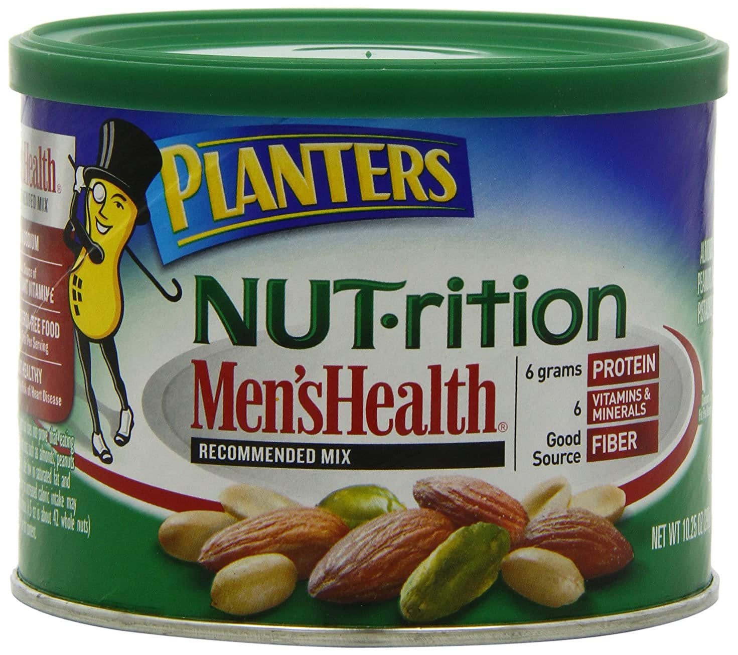3-Pack of 10.25oz Planters Nut-rition Men's Health Recommended Mix (Almonds, Peanuts, Pistachios) $4.16 + Free Shipping
