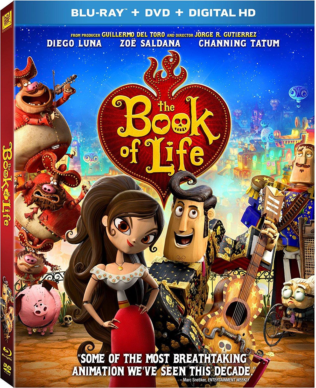 The Book of Life (Blu-ray + DVD + Digital HD)  $6 + Free Store Pickup