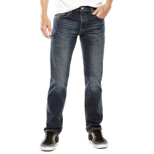 Arizona Men's Basic Original Straight Jeans + Arizona T-Shirt  $16 + Free Store Pickup