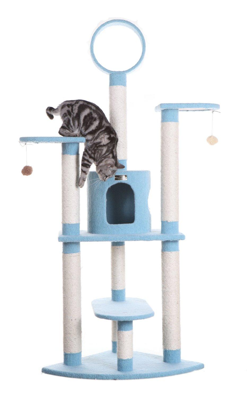"Armarkat 66"" Cat Tree Furniture Condo  $68.40 & More + Free S&H"